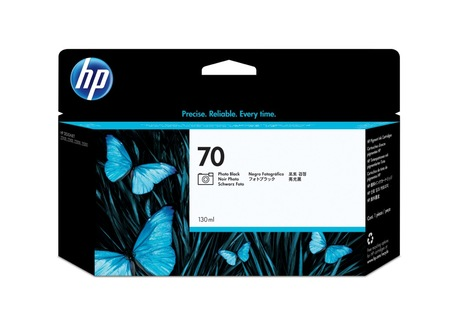 Encre HP 70 130 ml, noir photo