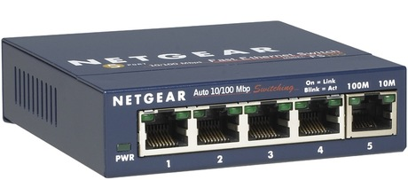 Switch Netgear ProSAFE FS105