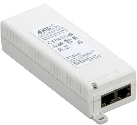 Axis T8120 PoE Midspan 1 port, 15 W