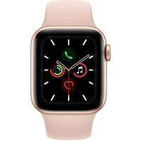 APPLE Watch Series 5 (GPS) 40 mm - Montre intelligente (130 mm - 200 mm, Plastique, Or/Sable rose)